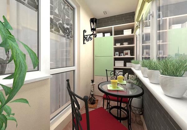 Идеи по обустройству балкона и лоджии.