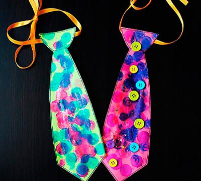Как сделать бумажный галстук 156