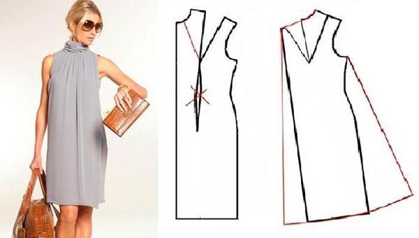 Как сшить платье футляр начинающим 29