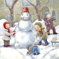 Загадки про зиму